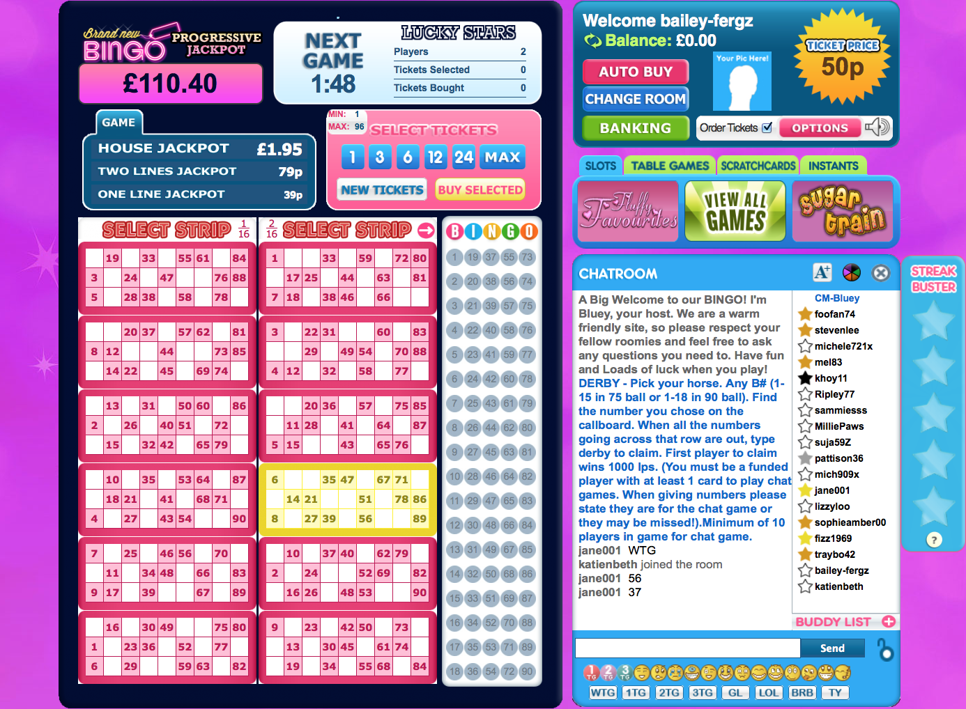 brand new bingo sites